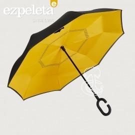 Paraguas del Revés Color Mostaza