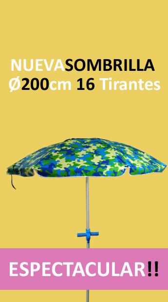 SOMBRILLA 16 VARILLAS