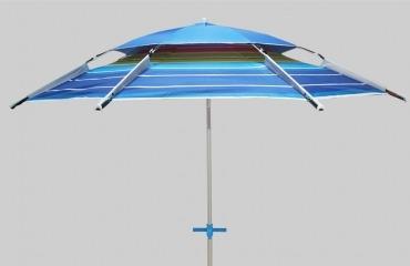 ¿Cuánto viento soporta una sombrilla de playa?